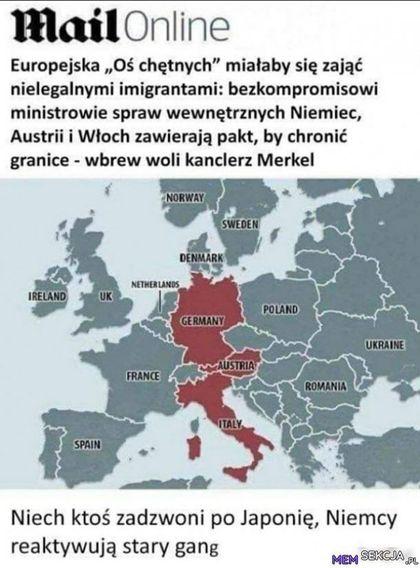 Austrii i włoch zawierają pakt, by chronić