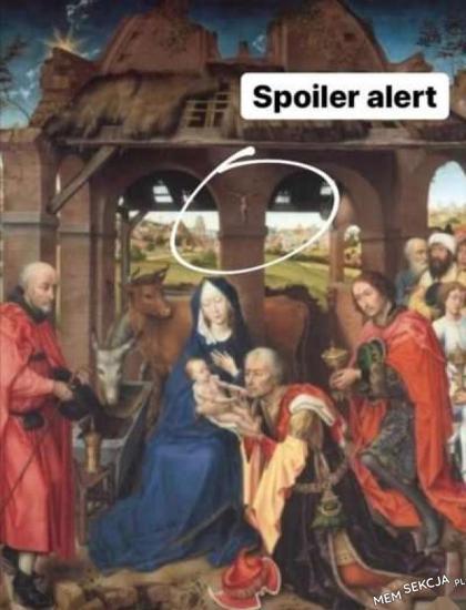 Uwaga, spoiler ukrzyżowania Jezusa