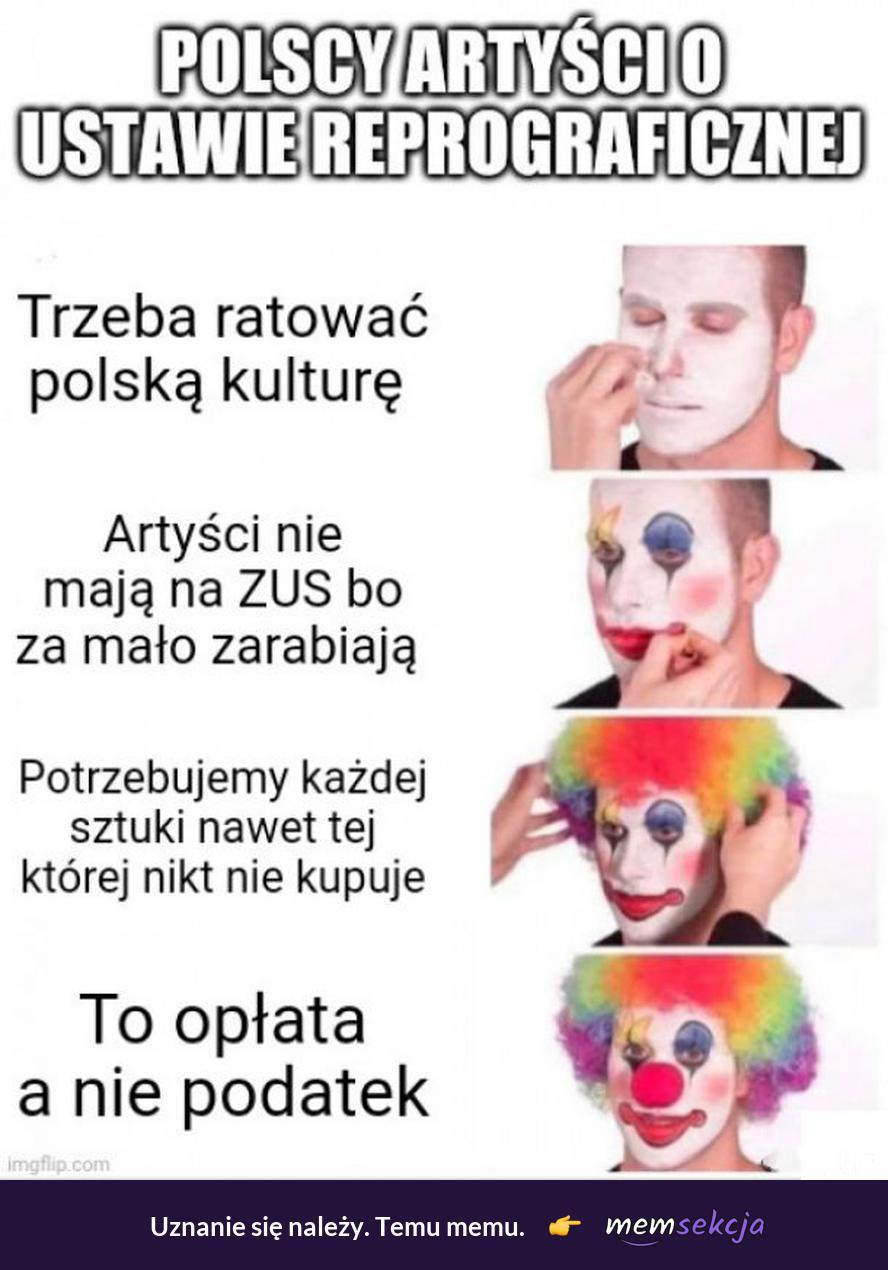 Polscy artyści o ustawie reprograficznej