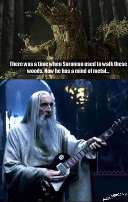 Saruman metalowiec