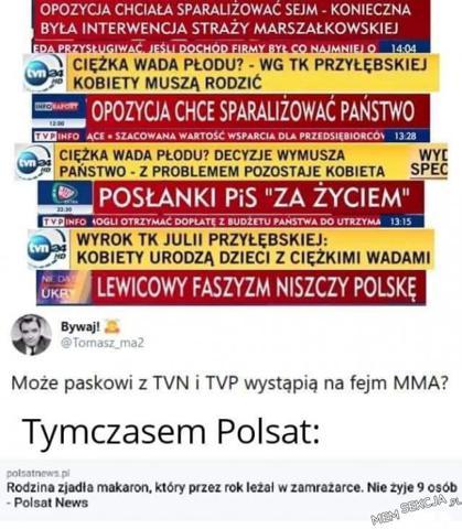 Paskowi z TVN i TVP powinni spotkać się na Fame MMA