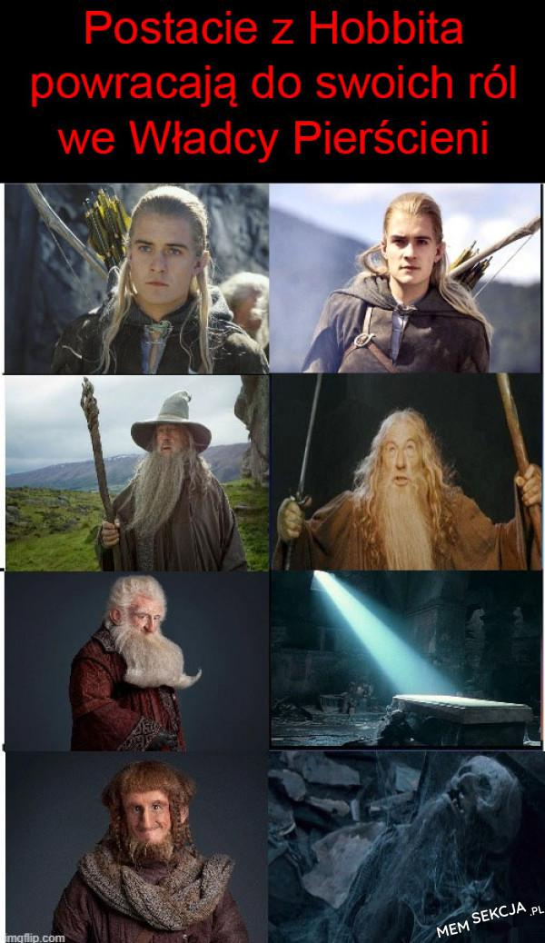 Postacie z hobbita