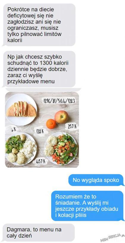 Dagmara, to menu na cały dzień