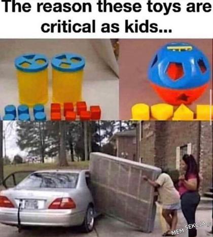 Powód, dla którego każde dziecko powinno mieć te zabawki