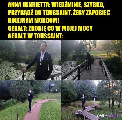 Geralt w Toussaint
