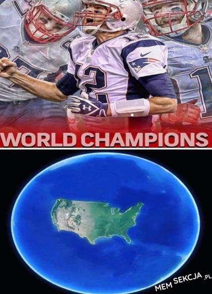 Kiedy zdobywasz mistrzostwo świata w futbolu amerykańskim