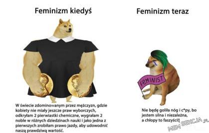 Feminizm kiedyś i teraz