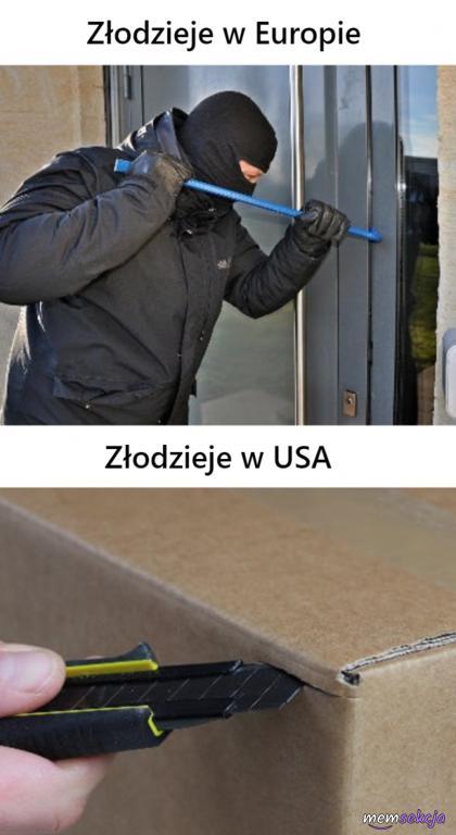 Złodzieje w europie vs złodzieje w USA
