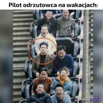 Pilot na wakacjach