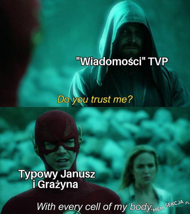 Doyon trust me?