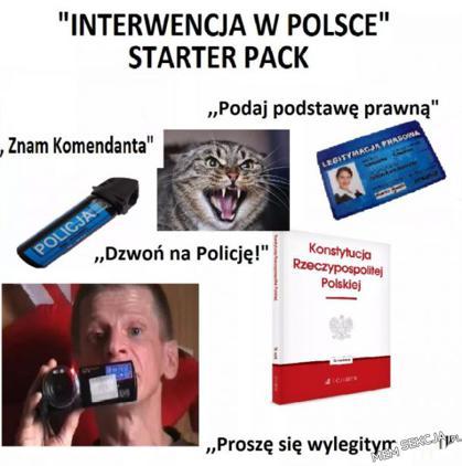 Interwencja w Polsce starter pack
