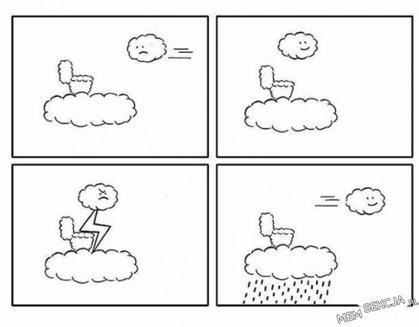 Jak powstaje deszcz