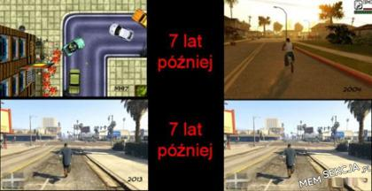 7 lat różnicy GTA