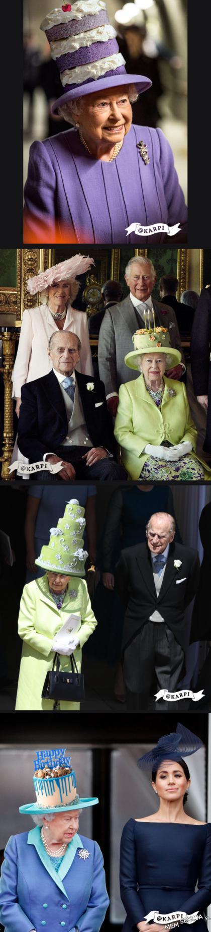 Ciastowe kapelusze Królowej Elżbiety