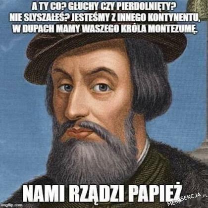 Nami rządzi papież. Memy