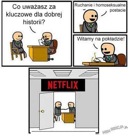 Jak zatrudniają w Netflixie