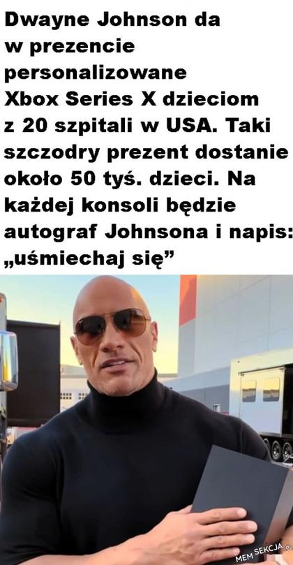 dobry Dwayne Johnson