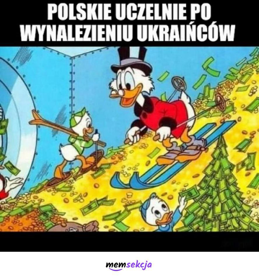 Polskie uczelnie po wynalezieniu ukraińców