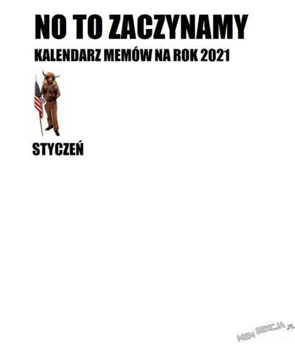 Kalendarz memów 2021