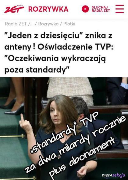 Standardy TVP