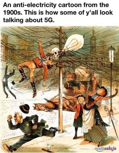 Tak wygląda cześć osób mówiących o 5G