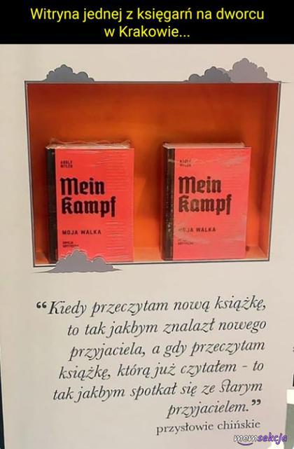 Taka tam księgarnia w Krakowie