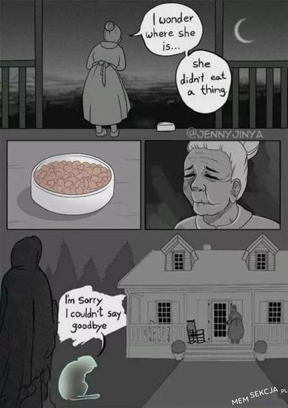 smutny komiks