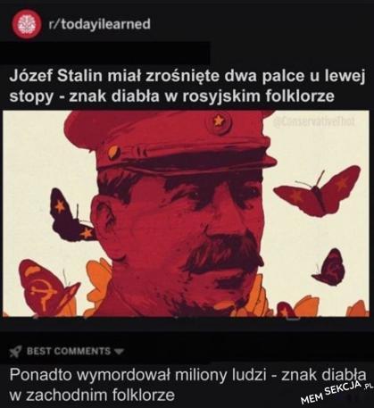 Ciekawostki o Stalinie