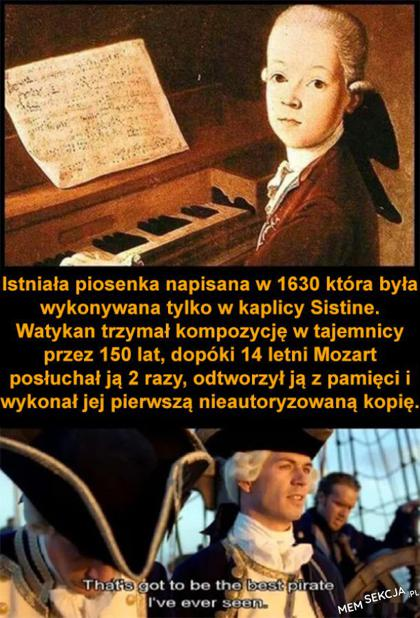 mozart był piratem