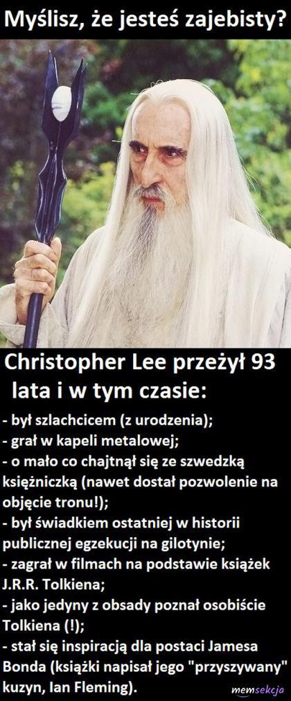 Myślisz, że jesteśzajebisty? To przeczytaj to. Ciekawostki. Saruman. Tolkien