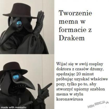 koronawirusowy mem