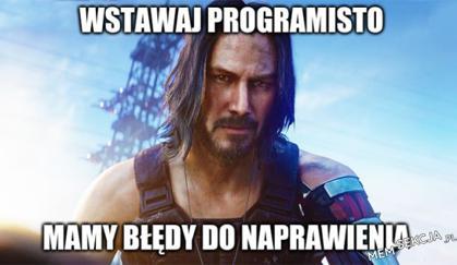 Wstawaj programisto