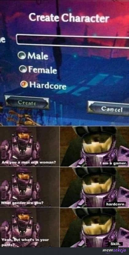 Moja płeć to hardcore