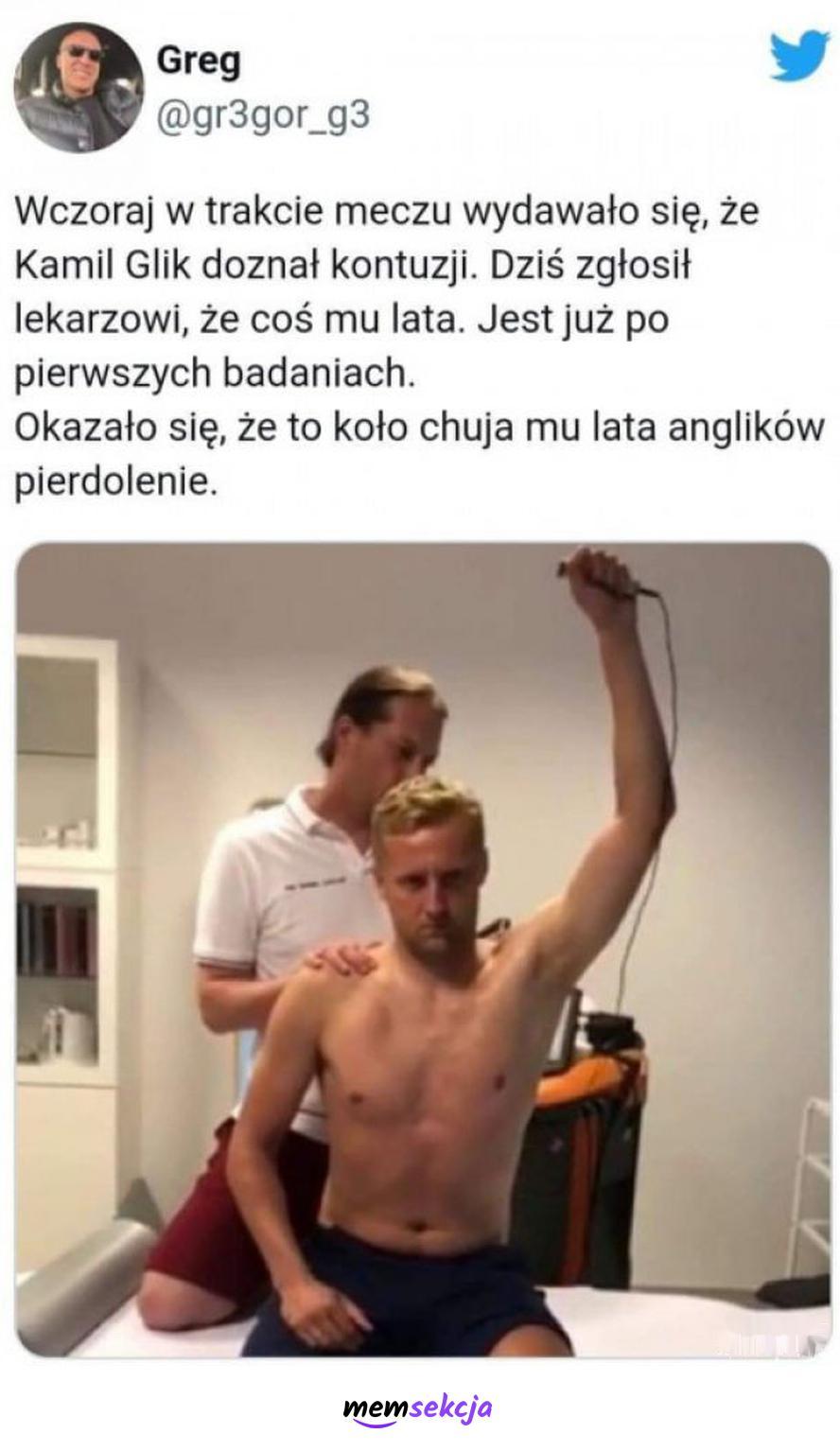 Co lata Glikowi?. Sport. Kamil  Glik