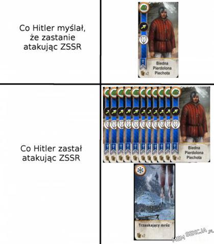 Co Hitler myślał, że zastanie, a co zastał naprawdę