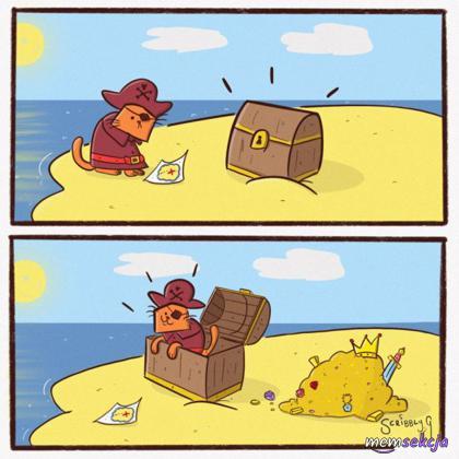 Gdyby kotek był piratem