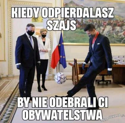 Lewandowski stara się zachować obywatelstwo