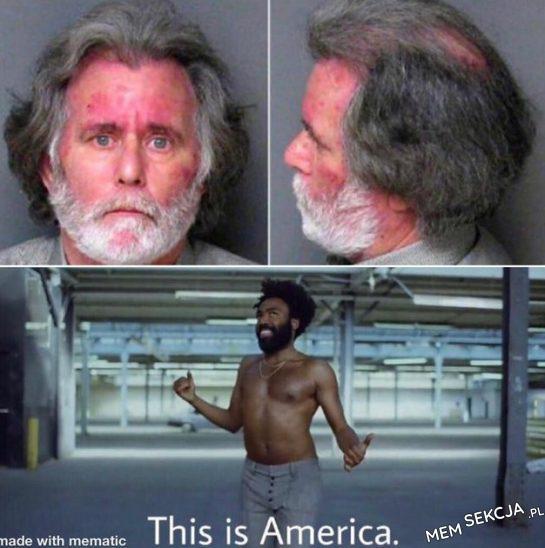 To jest bardzo amerykańskie