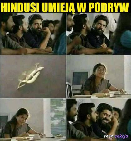 Hindusi umieją w podryw
