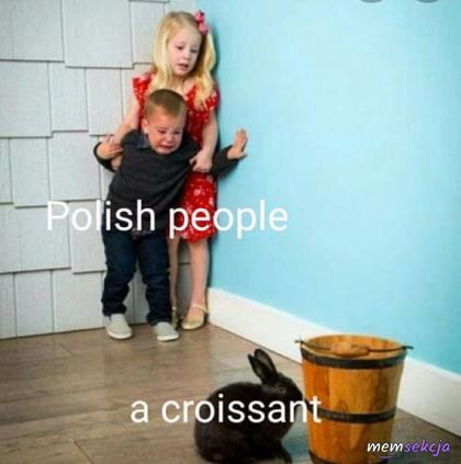 Polacy i ich lęk przed croissantem