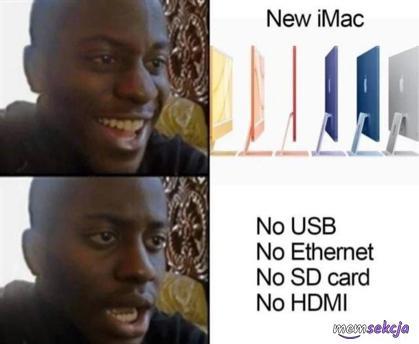 Nowy iMac nie ma żadnych funkcji