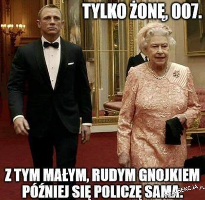 Tylko żonę 007
