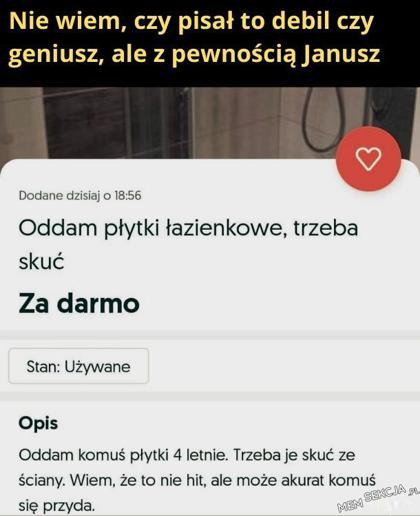 Pisane przez Janusza