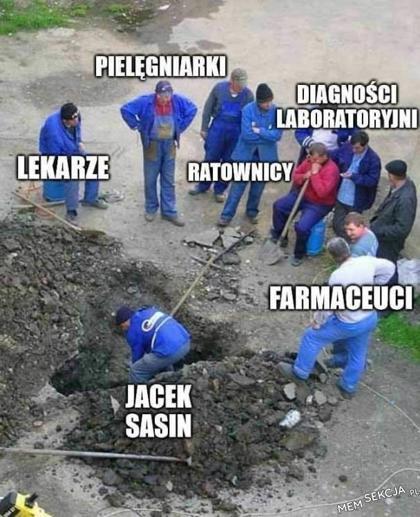 Jacek Sasin w centrum uwagi