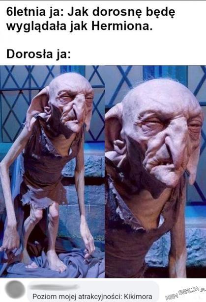 Jak dorosnę, będę wyglądała jak Hermiona