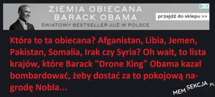 Ziemia obiecana Baracka Obamy