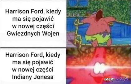 Harrison Ford i Indiana Jones
