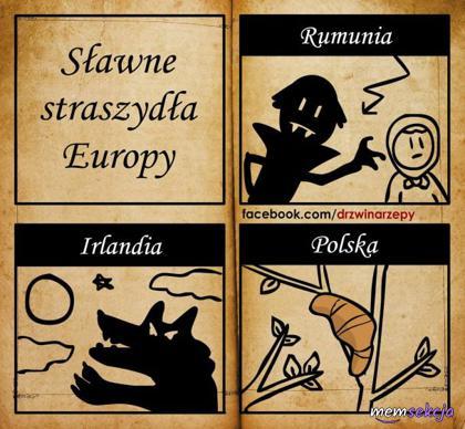 Sławne straszydła Europy