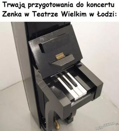Koncert Zenka w Łodzi