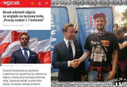 Bosak Krzysztof szanuje koszulki